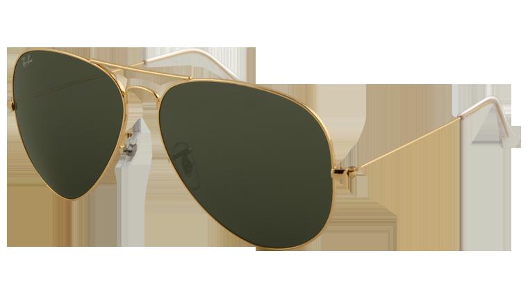 Okulary przeciwsłoneczne Ray Ban Aviator (źródło: ray-ban.com)