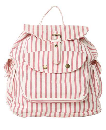 Plecak w paski (źródło: pinterest.com)