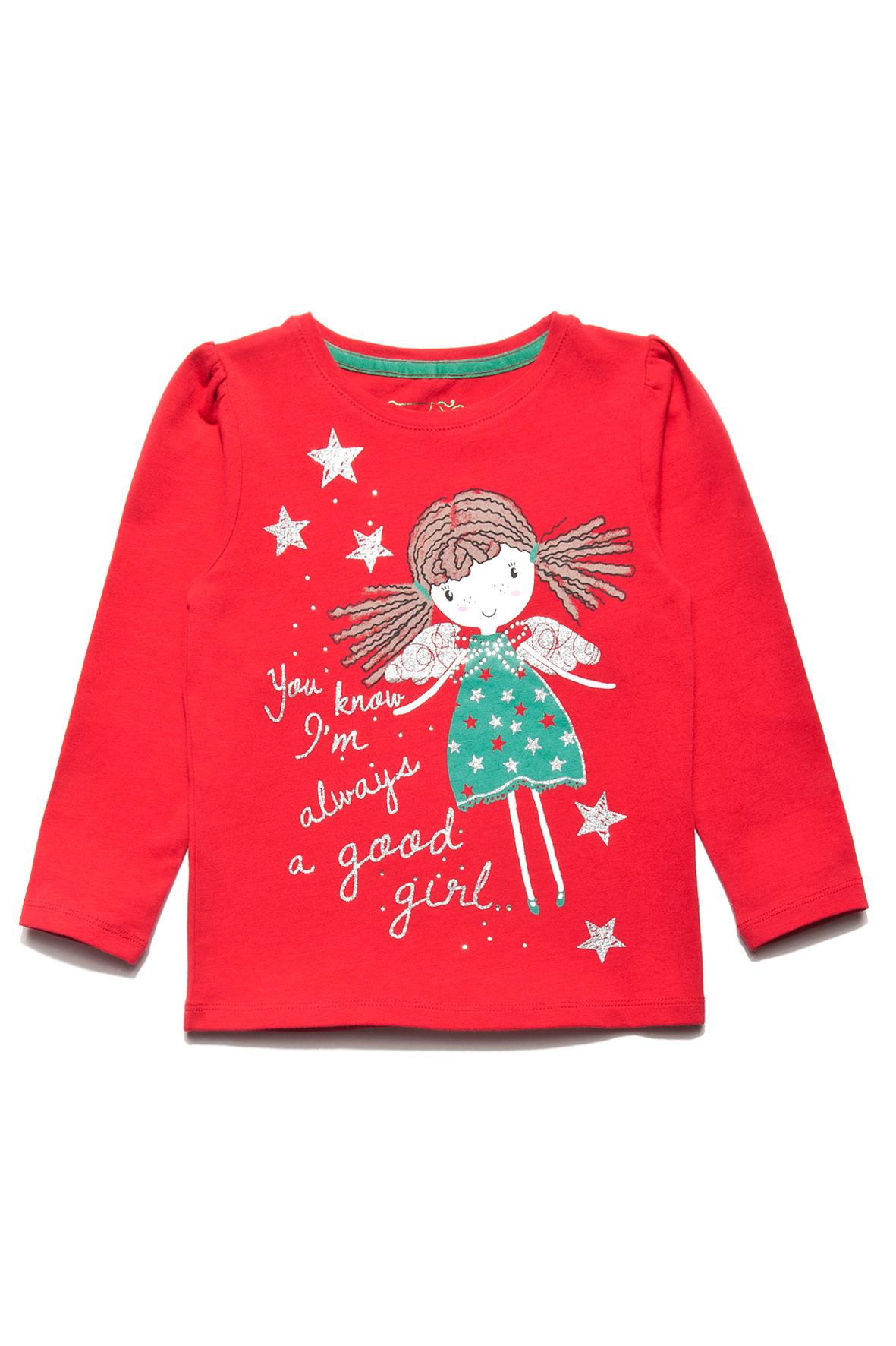 Bluzka dziewczęca z nadrukiem (źródło: www.51015kids.eu)