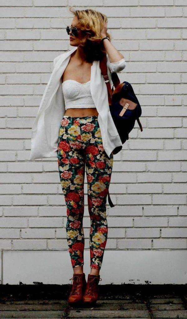Kolorowe legginsy (źródło: pinterest)