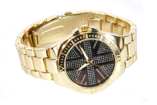 Zegarek z w kolorze złota (źródło: mybaze.com)