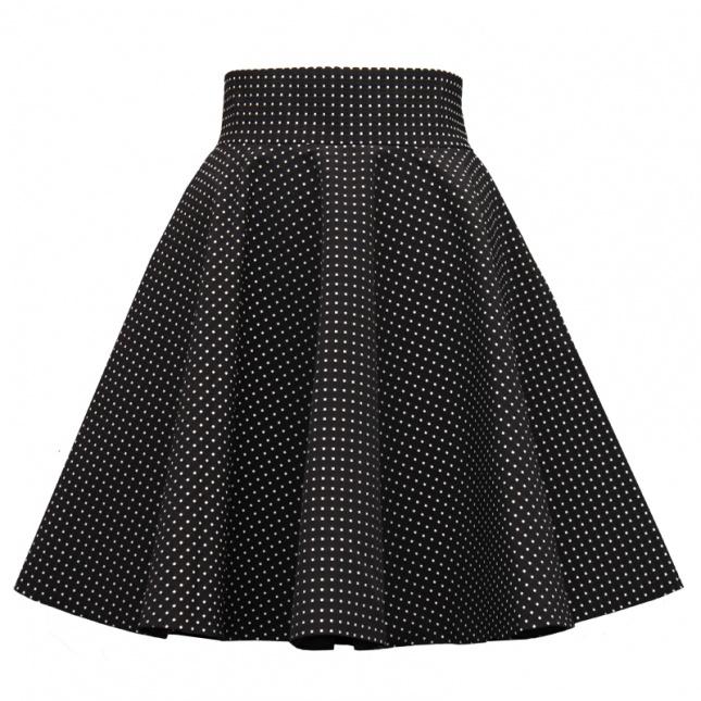 Rozkloszowana spódnica w stylu lat 50-tych (źródło: mybaze.com)