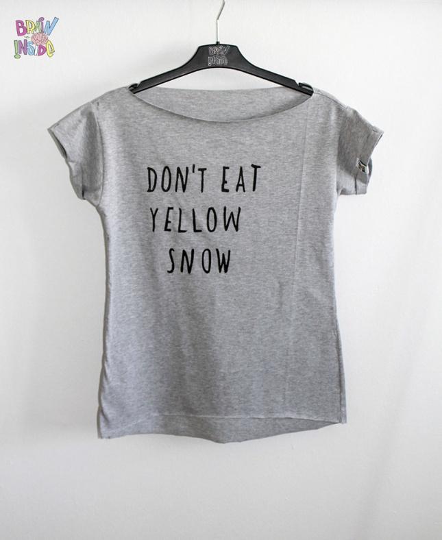 T-shirt z nadrukiem (źródło: sklep z ubraniami mybaze.com)