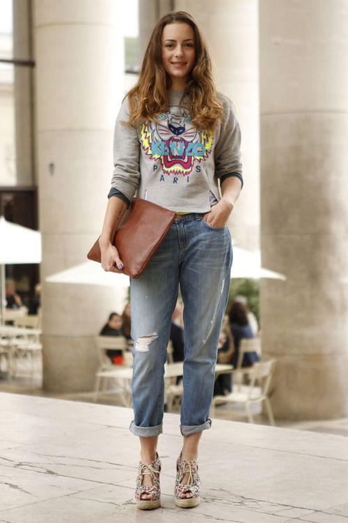 modne bluzy z nadrukiem