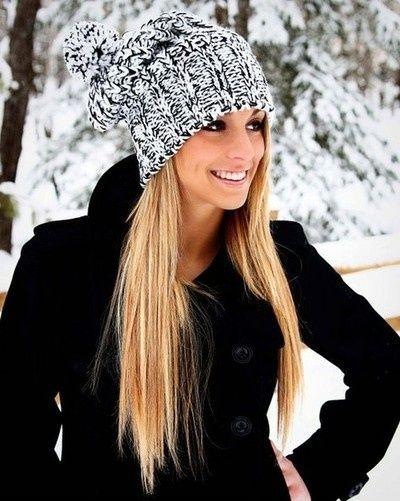 modne zimowe czapki
