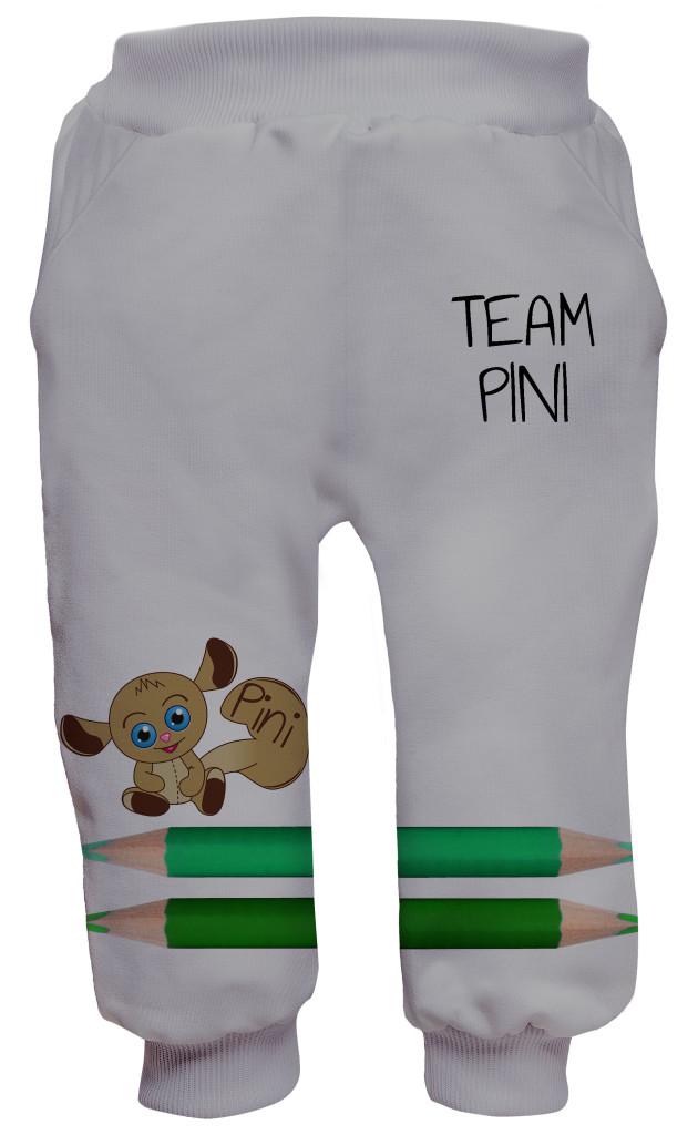 spodnie dla dzieci - team pini