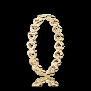 pierścionek z serduszkami