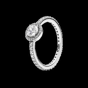 pierścionek z dużym oczkiem