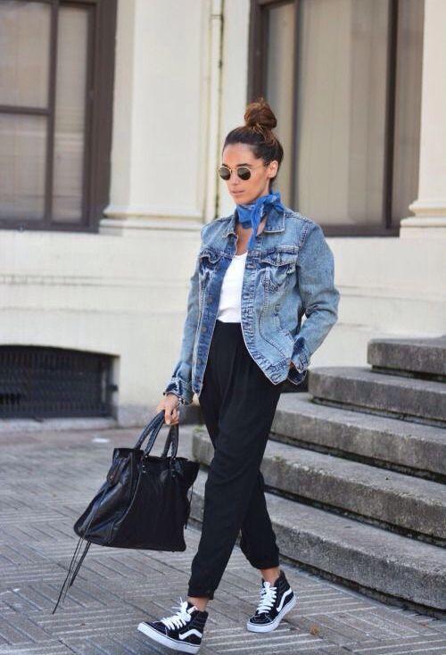 jeansowa kurtka typu oversize