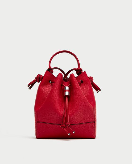 modne czerwone torebki