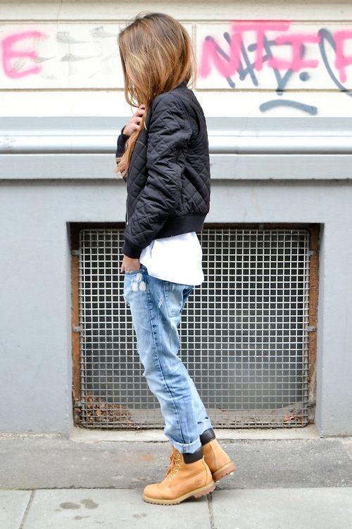 bomber jacket styl casual
