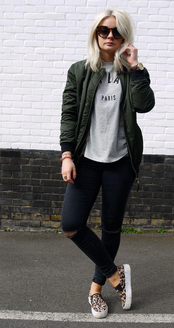 modna bomber jacket