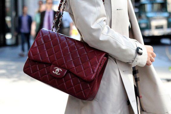 modne bordowe torebki