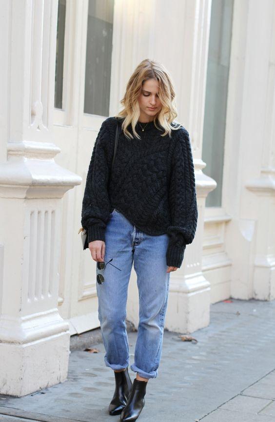 mom jeans stylizacje